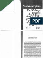 POLANYI Karl [1957] (2012). Textos Escogidos (Sel. Caps)
