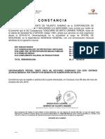 Constancia Corposervica