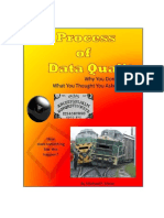 process of data quality.