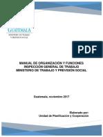 Manual de Organizacion y Funciones IGT DICIEMBRE 2017