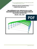 Memoría de Cálculo Cubierta Metálica Villacuri.doc