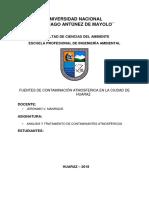 Informe PM 2.5 Avance 1.0