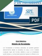 SIPE - Módulo de Novedades