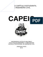 Capeic Ucsp - Estatutos 2019