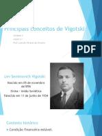 Principais Conceitos de Vigotski