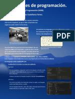 Infografía lenguajes de programación