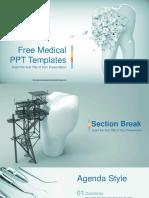 Dental Clinic PowerPoint Templates