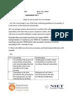 Assignment 1 Sunstone 119045