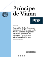 Extensión de Las Fronteras de Navarra en la Nueva España