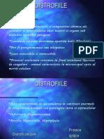distrofii proteice