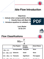 Intro to Compress Ible Flow