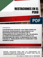 SEGURIDAD SOCIAL EN EL PERÚ