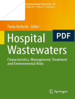 Hospital Wastewaters _ Characteristics, Management, Treatment and Environmental Risks