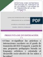 PRESENTACION SIMPOSIO PROYECTO DE TESIS