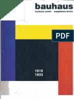 Bauhaus 1919-1933 -Bauhaus Archiv Magdalena Droste