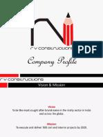 Rv Constructions Construction u0026 Infrastructure Development Contractors Company Profile