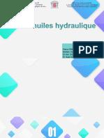 Les Huiles Hydraulique