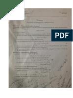 Examen Analyse Numérique