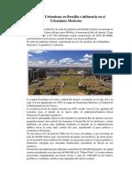 Análisis Del Urbanismo en Brasilia e Influencia en El Urbanismo Moderno