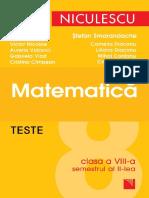 TestedeMatematica8Semestrul2