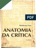 Anotomia Da Cr[Itica - Notphron Frye