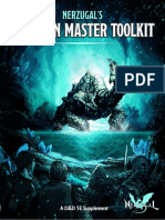 DnD Dungeons Master Toolsguide Oneshots