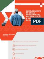 Gerenciamento de Obras, Produtividade, Racionalização & Desempenho da Construção