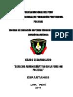 SILABUS DERECHO ADMINISTRATIVO EN LA FUNCION POLICIAL MEJORADO-ESPARTANOS 2019.doc