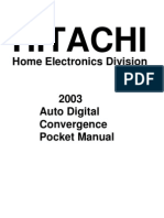 Hitachi DCAM Manual