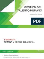 7. Nómina y Derecho Laboral