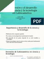 La inversión y el desarrollo de la ciencia.pptx