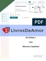 Livrosdeamor.com.Br Apostila de Orisas e Seus Caminhos 2017