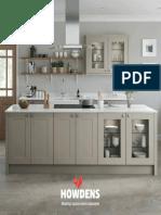 Howdens Kitchen Brochure