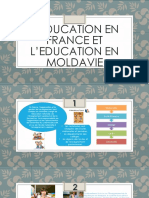 L'Education en France Et l'Education en Moldavie
