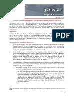Foreign Exchange Management Cross Border Merger Regulations 2018