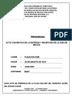 Programa de Entrega