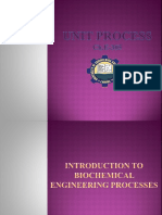 Introduction to Biochemical Engineering Processes.-1