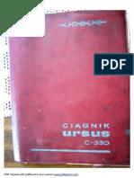 Instrukcja obsługi i katalog cześci URSUS  C-330.pdf