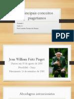 Principais conceitos piagetianos