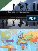 Qué Son Las Migraciones