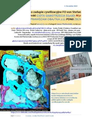 Zaplecze abo zadupie cywilizacyjne FO von Stefan Kosiewski CIOTA SAMOTRZECIA SSetKh M31 PDNII ZECh 20191104 ME SOWA Panu Marcinowi Krzyzanowskiemu.pdf