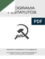 Estatuto del partido comunista de Colombia (PaCoCol)