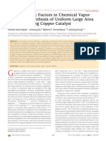 Role of Kinetic Factors in Chemical Vapor Deposition Synthesis of Uniform Large Area Graphene Using Copper Catalyst
