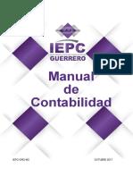 Manual de Contabilidad Del IEPC Gro
