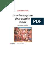 Castel R- Les Metamorphoses de La Question Sociale