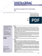 Modelo lógico operacional do programa de conservação auditiva do trabalhador