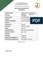 Cálculo II Contenido Programatico TSU EN INFORMATICA UNELLEZ