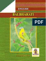 Balbharati std 6 English book