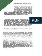 Formaciones Cerinza y Columna Estratigrafica