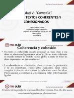 Textos coherentes y cohesionados